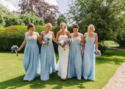 Blue-bridesmaid-photo