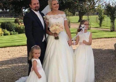 Hannah C bride 3
